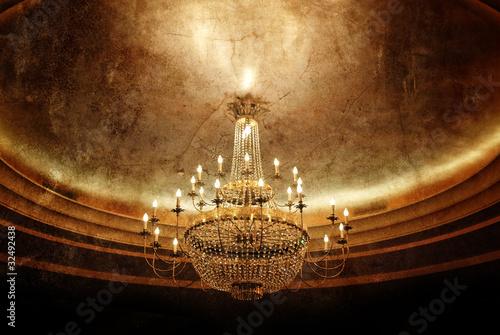 Fényképezés grunge chandelier