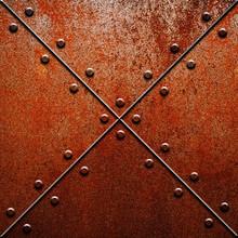 Rusty Metal Tank