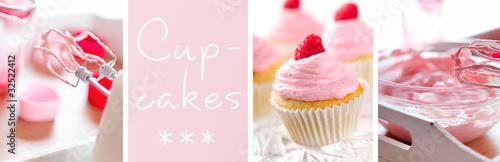 Photo  cupcake banner
