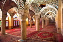 Prayer Hall Of Nasir Al-Molk Mosque, Iran