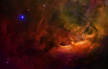 Surreal Orion Space Starry Sky