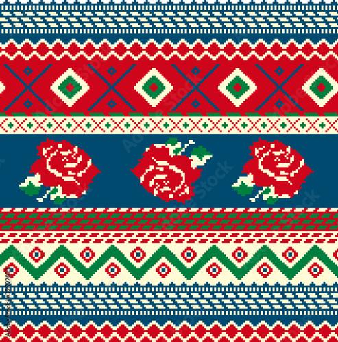 Photo  cross stitch pattern