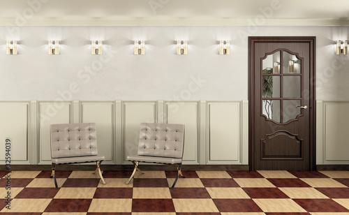 Papiers peints Retro Waiting Room