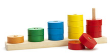 Wooden Colored Logical Toy