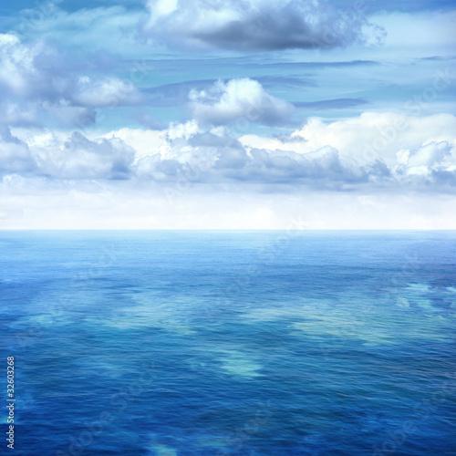Fotobehang Zee / Oceaan blue sea and sky