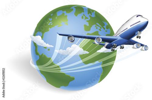 koncepcja-globu-samolotu