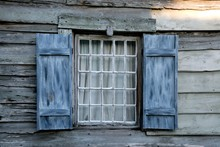 Antique Window At Historic St Augustine Florida Usa