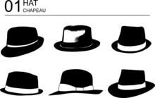 Chapeaux Vecteur