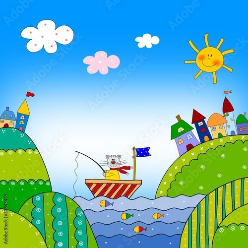 Coloring book - Illustration for children