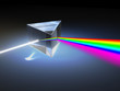 canvas print picture - Light refraction