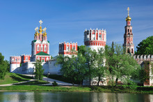 Novodevichiy  Monastery. Moscow. Russia.