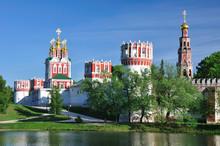 Novodevichiy  Monastery. Mosco...