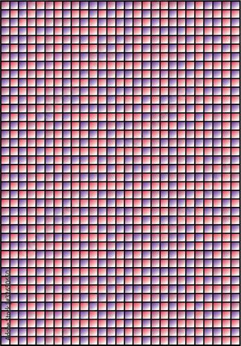 Fototapeta kratka  mozaika-fioletowa