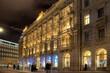 Leinwandbild Motiv Zürich am Abend