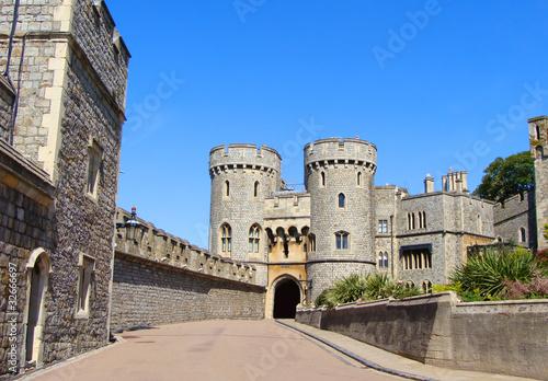 Norman Gate at Windsor Castle #32666697