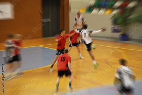 Foto-Duschvorhang - handball (von zuchero)