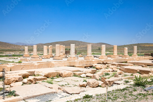 In de dag Rudnes The Audience Hall of the Pasargadae Palace