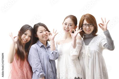 Fotografía  4人の女性