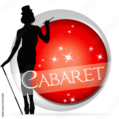 Fotografie, Obraz  icône cabaret