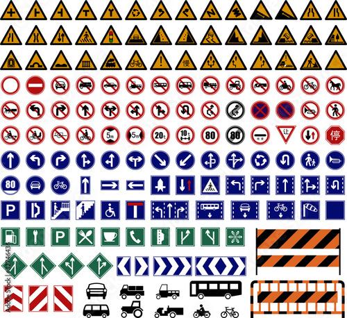 Fototapeta Traffic Sign obraz na płótnie