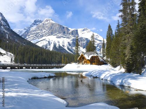 Poster Canada Emerald Lake, Canadian Rockies