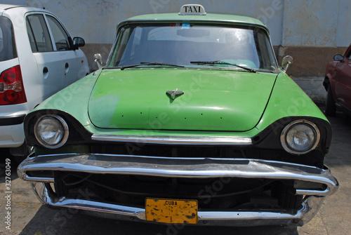 Türaufkleber Autos aus Kuba Cuban Taxi