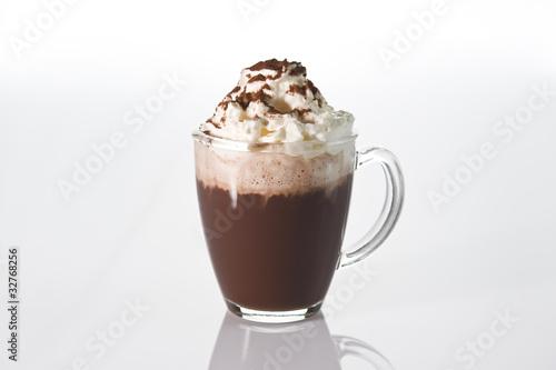 Foto op Canvas Chocolade Kakao