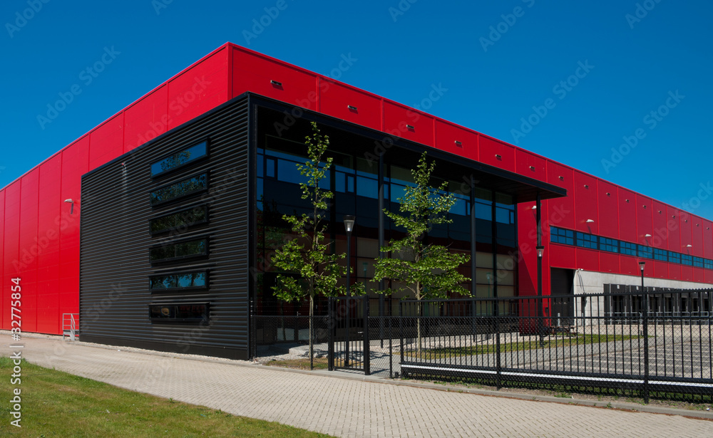 Fototapeta industrial warehouse