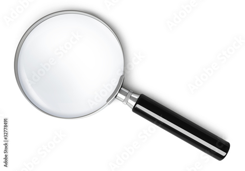 Magnifying glass - top view #32778491
