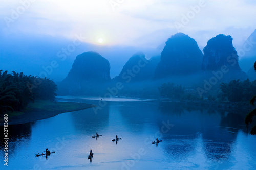 Foto op Canvas Guilin scenery in Guilin, China