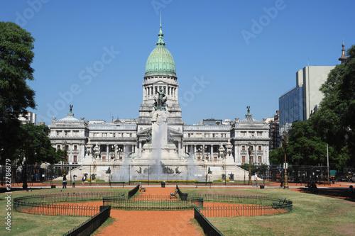 Poster Buenos Aires palazzo del governo di Buenos Aires