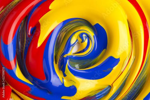 mélange de couleur Wallpaper Mural