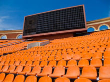 Row Of Seats And Score Board I...