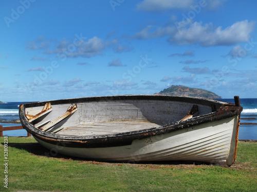 Foto op Aluminium Strand Clinker boat