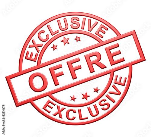 """Fotografie, Obraz  """"Offre Exclusive"""" Cachet"""