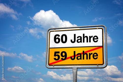 Poster  60 Jahre