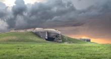 German Bunker In Normandy..