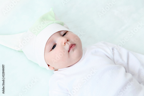 Cadres-photo bureau Fleur cute baby in hat