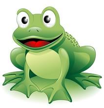 Rana Ranocchio Cartoon-Frog-Vector