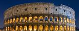 Koloseum o zmierzchu- Rzym