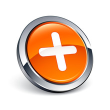 Icône Bouton Internet Plus