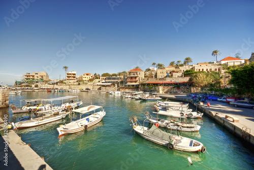 Foto op Plexiglas Cyprus Small harbor, Byblos, Lebanon