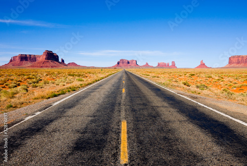 Fotografie, Obraz  Highway 163 in Monument Valley