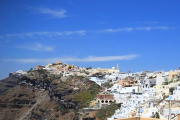 Fototapeta na wymiar Santorini island Greece