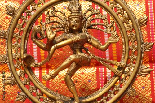 Carta da parati Shiva, le danseur cosmique