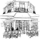 stara kawiarnia w Paryżu - 32929848