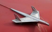 Closeup Of A Retro Crome Airpl...