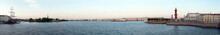 Panoramic View On The Neva Riv...