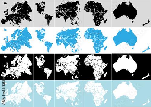 Globus Weltkugel Karte.Weltkugel Weltkarte Landkarte Globus Karte 6 Buy This Stock Vector