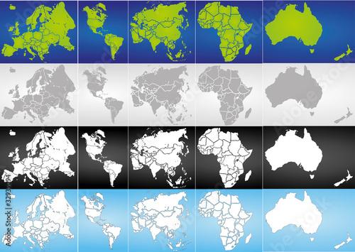 Globus Karte.Weltkugel Weltkarte Landkarte Globus Karte 5 Buy This